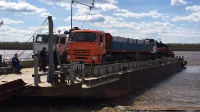 Доставка грузов речным транспортом