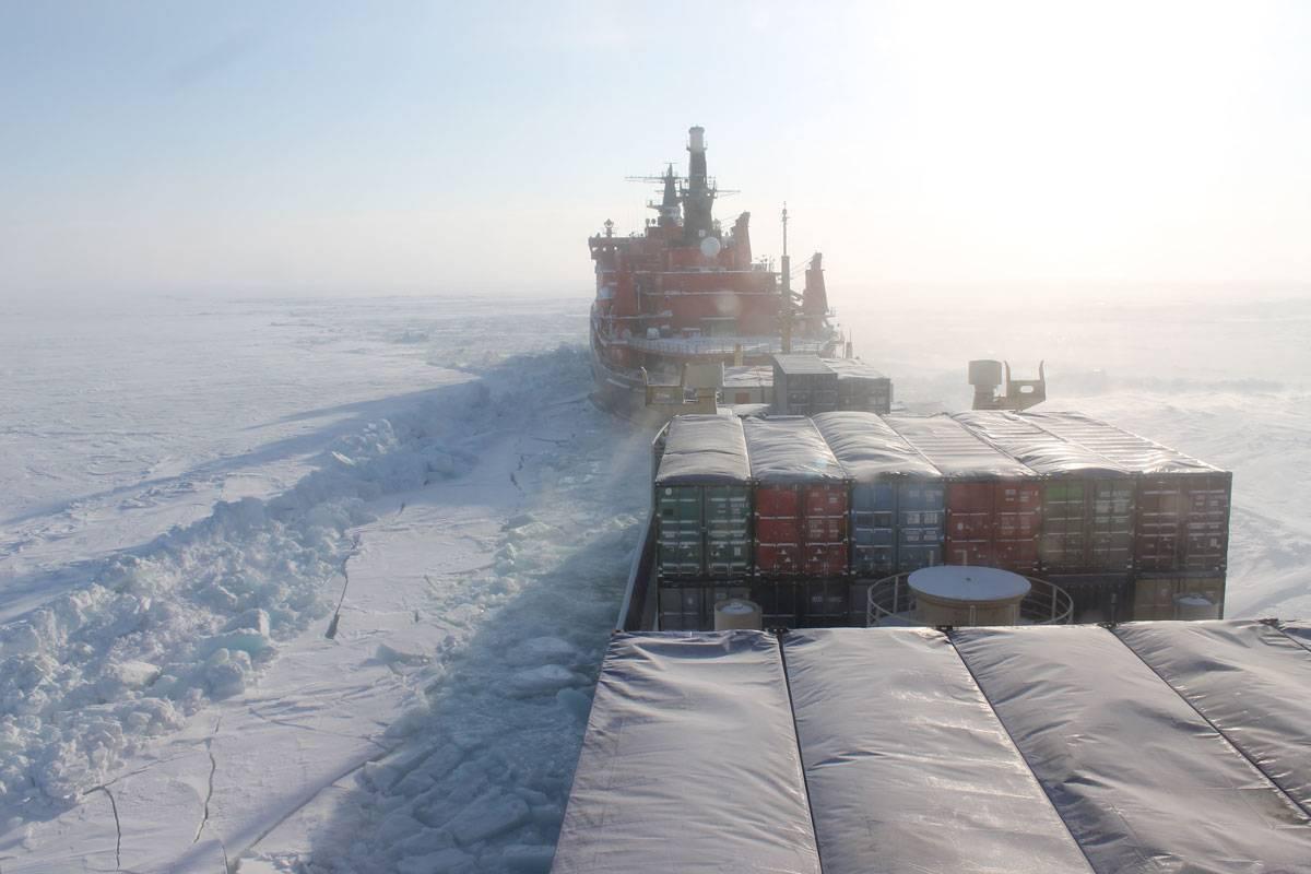 перевозки северным морским путем