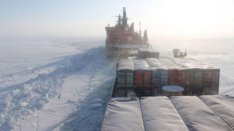 Доставка грузов Северным морским путем